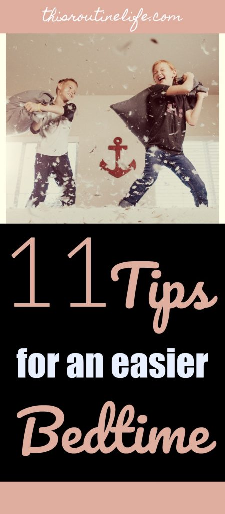11 Tips for an easier bedtime