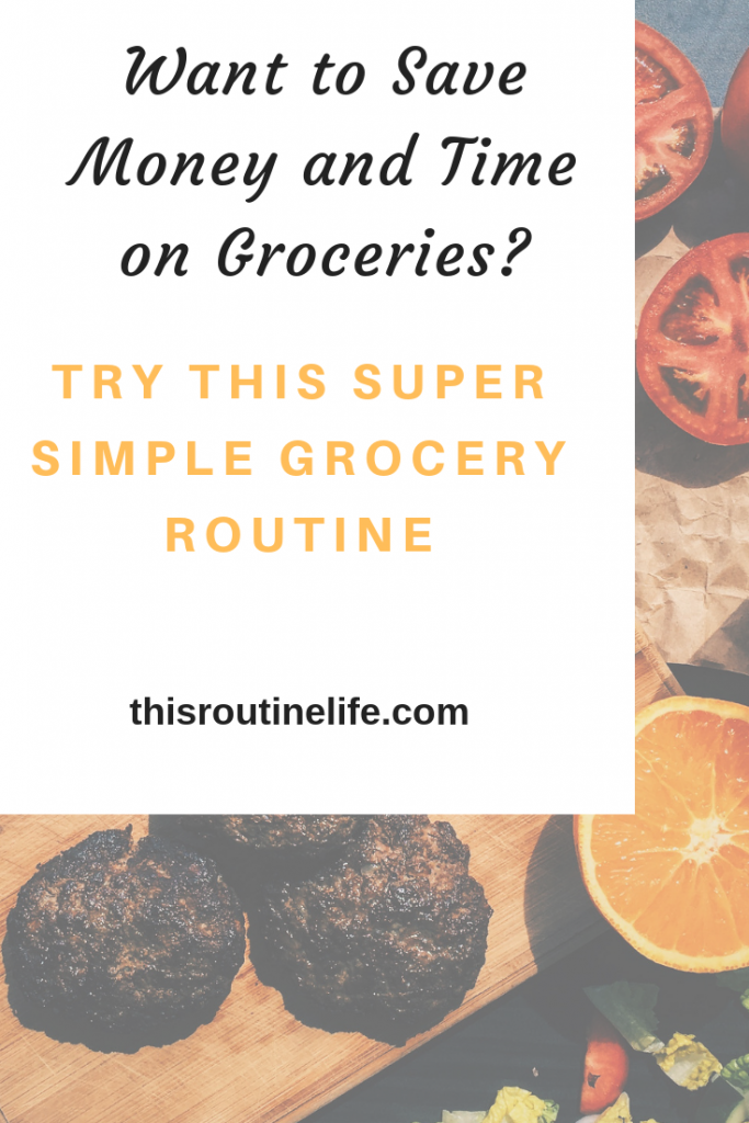 Want to Save Money and Time on Grocery Shopping? Try this super simple grocery routine