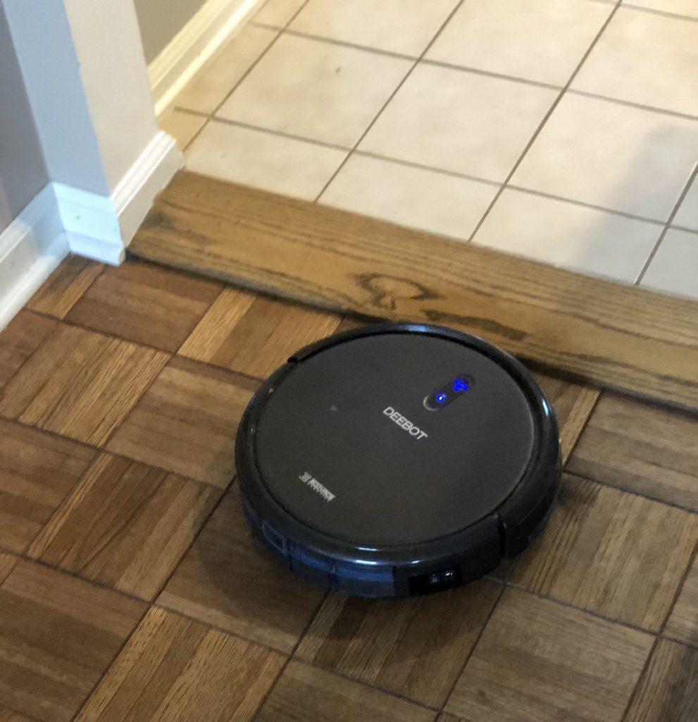 Deboot robotic vacuum cleaning floors