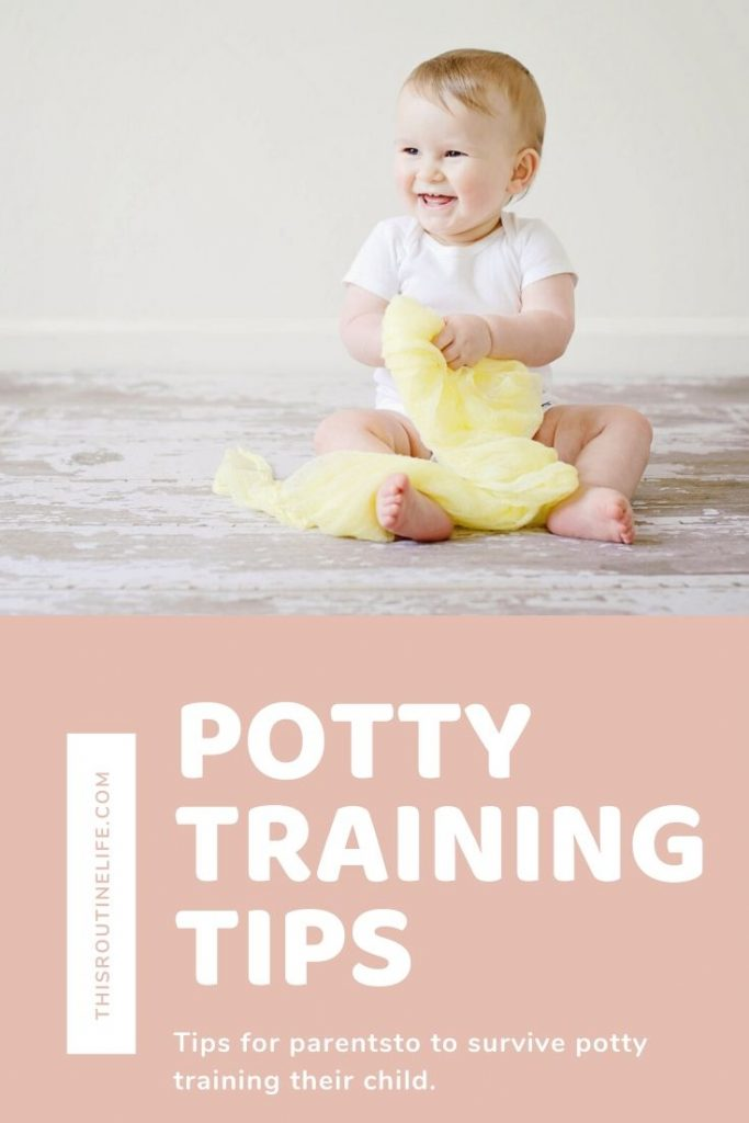 Potty training tips for parents to survive potty training their child.