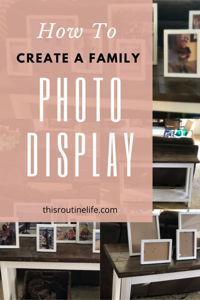 How to Create a Family Photo Display