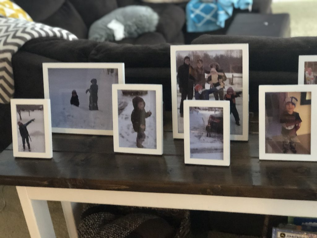 Picture display completed