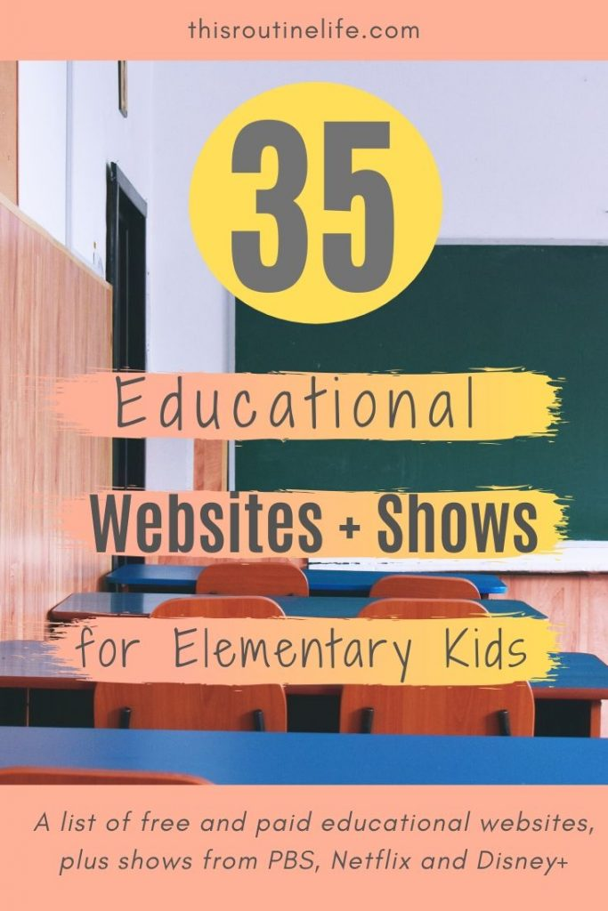 35 Educational Websites and Shows for Elementary Kids
