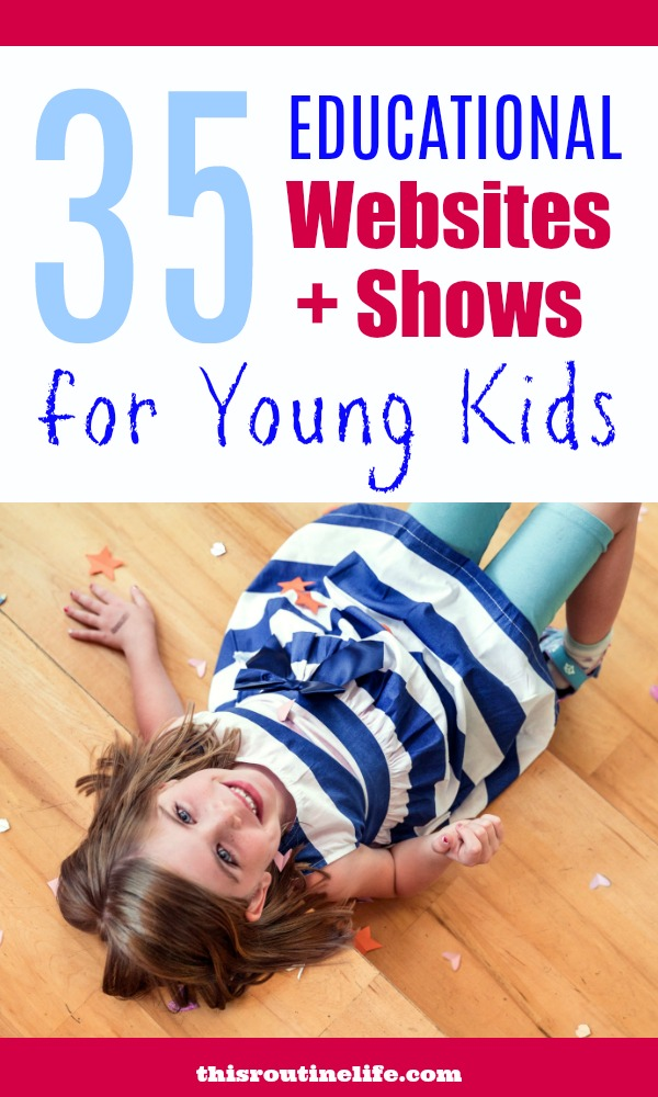 35 Educational Websites and Shows for Young Kids