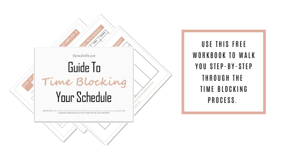 Guide to Time Blocking Your Schedule to Be More Productive
