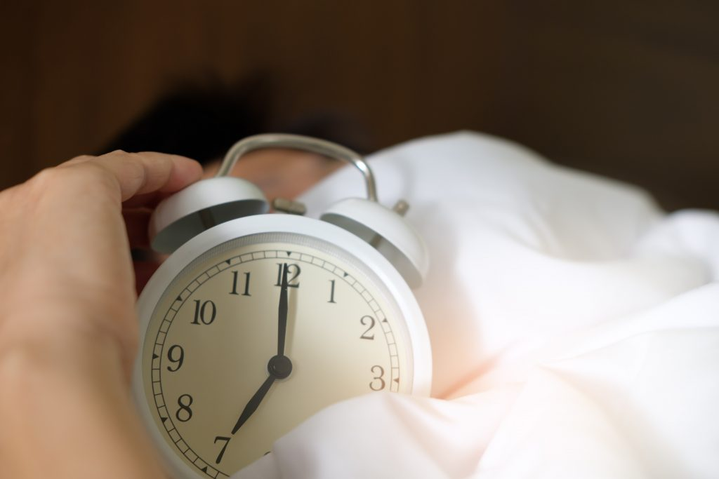 An alarm clock to help you be more productive