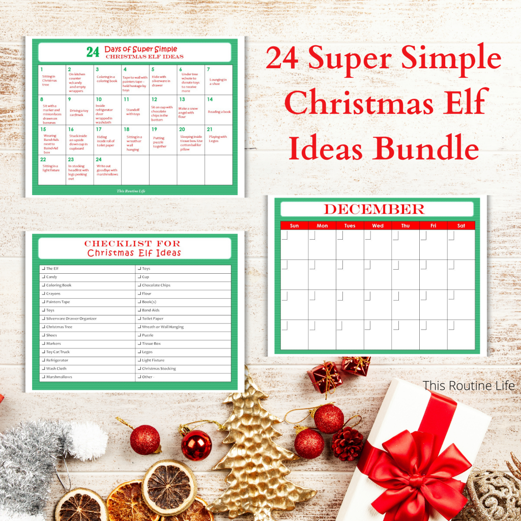 Christmas Elf Ideas Bundle
